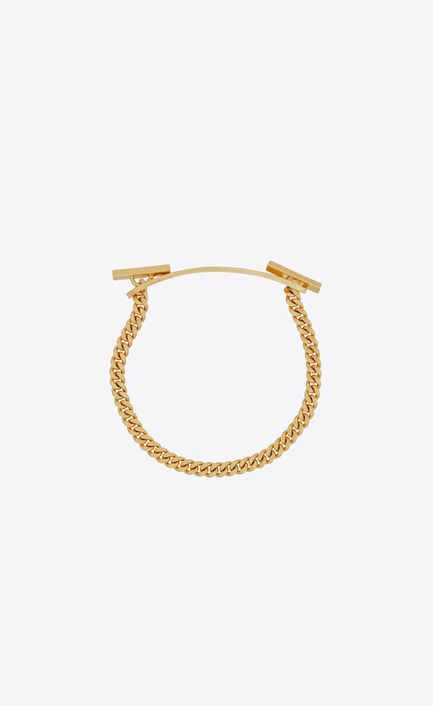 t bar baptism bracelet in metal