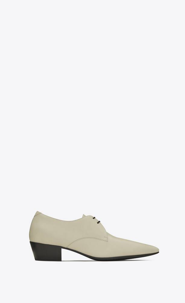 billy derbies en cuir lisse