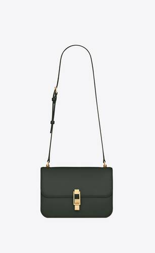 bolso cruzado le carre de piel box saint laurent