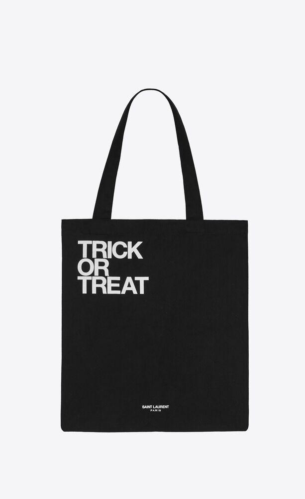 """""""trick or treat"""" totebag"""