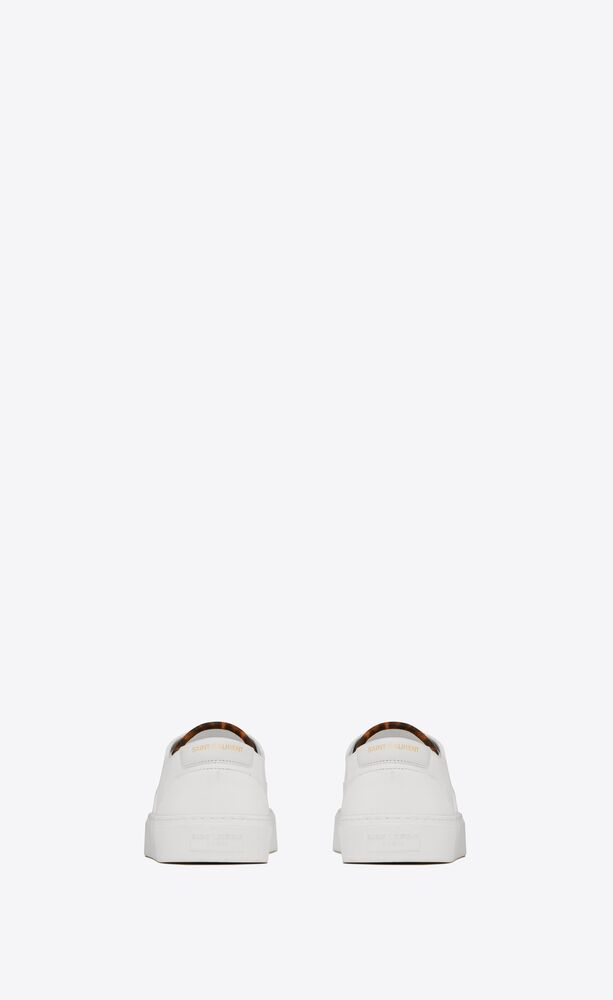 venice sneakers in canvas, leather and suede