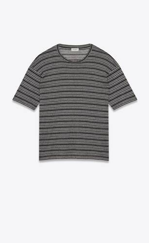 striped surfer t-shirt in jersey