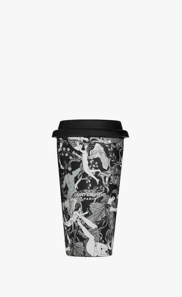 """scandal"" print coffee mug in ceramic"