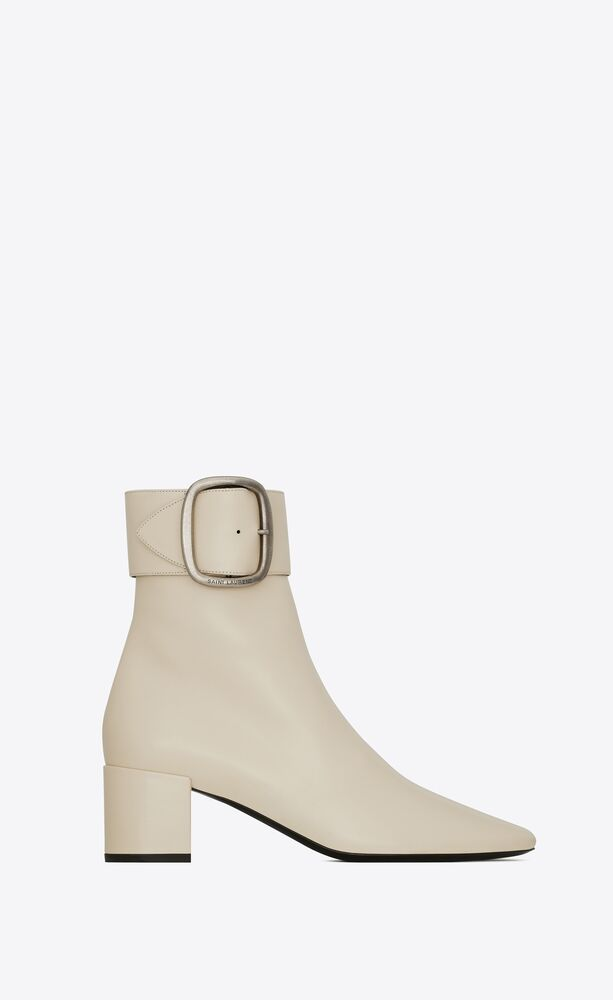 joplin booties in smooth leather