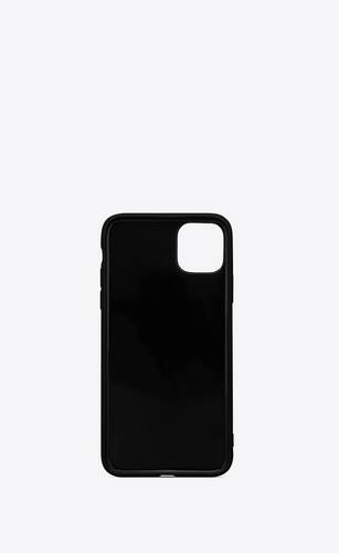 iphone 12 pro case in saint laurent star printed silicone