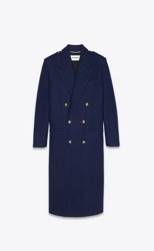 cappotto lungo doppiopetto in cashmere