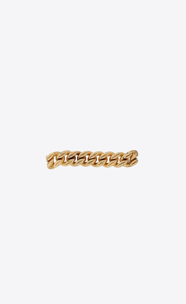lip links chain bracelet in metal