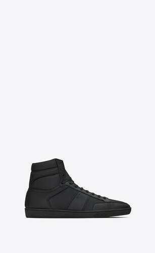 court classic sl/10h sneaker aus perforiertem und genarbtem leder