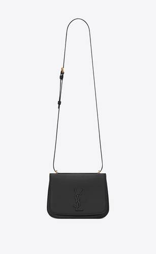 spontini small satchel in smooth leather