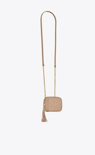 lou baby bag in quilted grain de poudre embossed leather