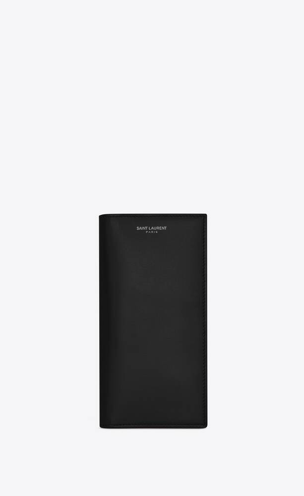 continental wallet in smooth leather