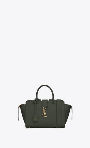 tote bag downtown baby in pelle martellata
