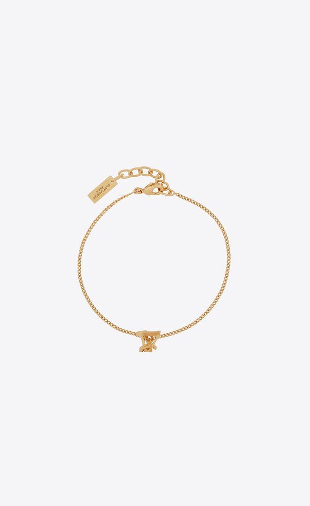 opyum twist bracelet in metal
