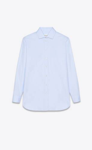oversized shirt in cotton twill