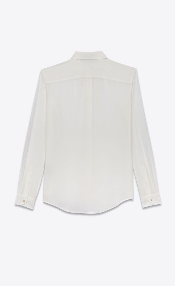 chemise en crêpe de soie